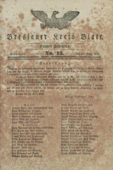 Breslauer Kreis-Blatt. Jg.5, No. 12 (24 März 1838)