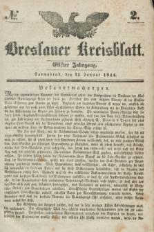 Breslauer Kreisblatt. Jg.11, № 2 (13 Januar 1844)