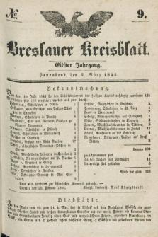 Breslauer Kreisblatt. Jg.11, № 9 (2 März 1844)