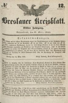 Breslauer Kreisblatt. Jg.11, № 12 (23 März 1844)