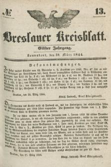 Breslauer Kreisblatt. Jg.11, № 13 (30 März 1844)