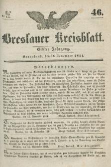Breslauer Kreisblatt. Jg.11, № 46 (16 November 1844)