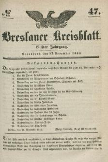Breslauer Kreisblatt. Jg.11, № 47 (23. November 1844)