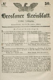 Breslauer Kreisblatt. Jg.11, № 50 (14. December 1844)