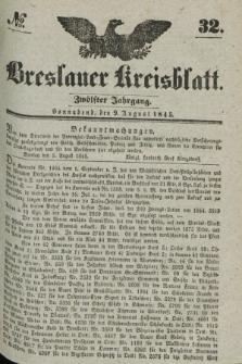 Breslauer Kreisblatt. Jg.12, № 32 (9 August 1845)