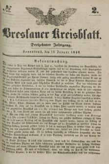 Breslauer Kreisblatt. Jg.13, № 2 (10 Januar 1846)