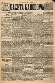 Gazeta Narodowa. 1884, nr3