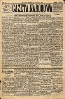 Gazeta Narodowa. 1884, nr5