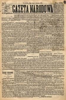 Gazeta Narodowa. 1884, nr7