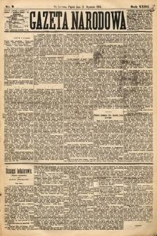 Gazeta Narodowa. 1884, nr9