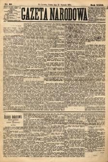 Gazeta Narodowa. 1884, nr10