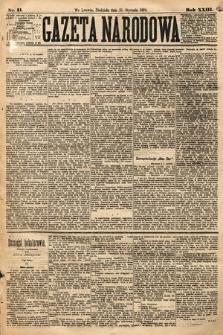 Gazeta Narodowa. 1884, nr11