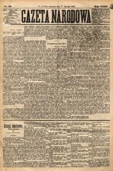 Gazeta Narodowa. 1884, nr14