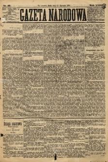 Gazeta Narodowa. 1884, nr19