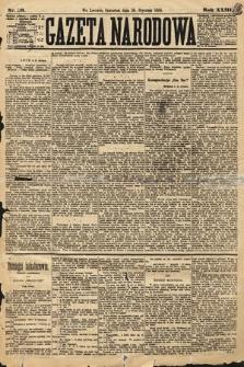 Gazeta Narodowa. 1884, nr20