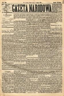 Gazeta Narodowa. 1884, nr30