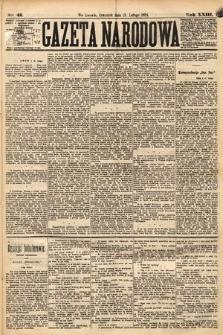 Gazeta Narodowa. 1884, nr43