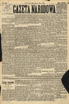 Gazeta Narodowa. 1884, nr57