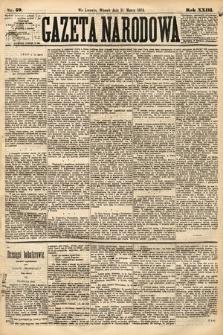 Gazeta Narodowa. 1884, nr59