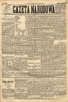 Gazeta Narodowa. 1884, nr68