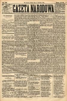 Gazeta Narodowa. 1884, nr80
