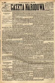 Gazeta Narodowa. 1884, nr101