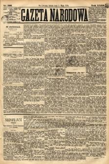 Gazeta Narodowa. 1884, nr103