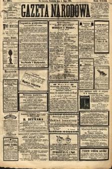 Gazeta Narodowa. 1884, nr104