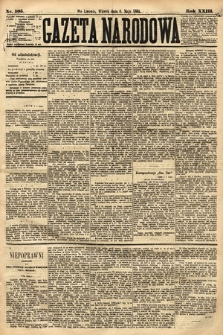 Gazeta Narodowa. 1884, nr105