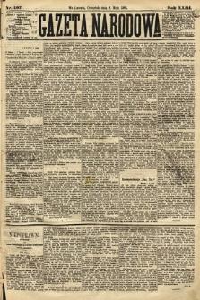 Gazeta Narodowa. 1884, nr107