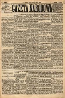 Gazeta Narodowa. 1884, nr109