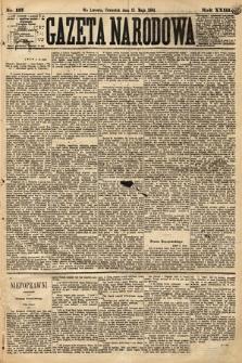 Gazeta Narodowa. 1884, nr113