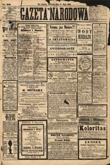 Gazeta Narodowa. 1884, nr116
