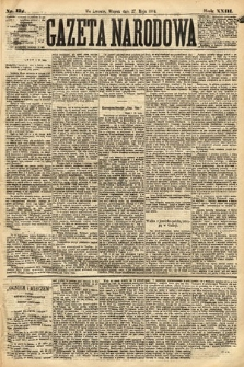 Gazeta Narodowa. 1884, nr122