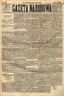 Gazeta Narodowa. 1884, nr125