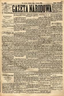 Gazeta Narodowa. 1884, nr127
