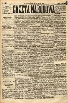 Gazeta Narodowa. 1884, nr128
