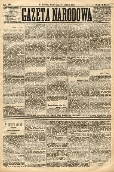 Gazeta Narodowa. 1884, nr133