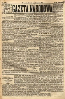 Gazeta Narodowa. 1884, nr135