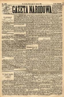Gazeta Narodowa. 1884, nr147