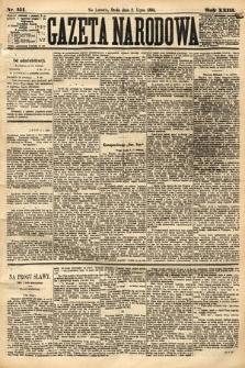 Gazeta Narodowa. 1884, nr151