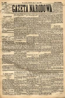 Gazeta Narodowa. 1884, nr152