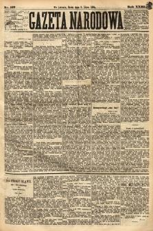 Gazeta Narodowa. 1884, nr157
