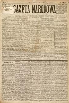 Gazeta Narodowa. 1877, nr1