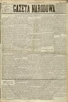 Gazeta Narodowa. 1877, nr5