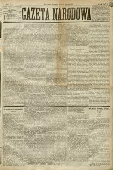 Gazeta Narodowa. 1877, nr7