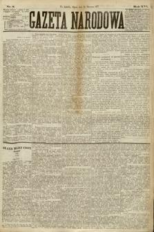 Gazeta Narodowa. 1877, nr8