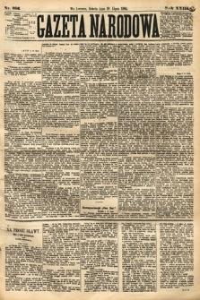 Gazeta Narodowa. 1884, nr166