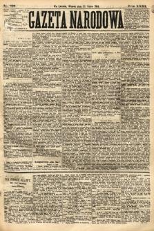 Gazeta Narodowa. 1884, nr168