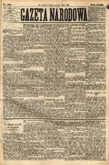 Gazeta Narodowa. 1884, nr171